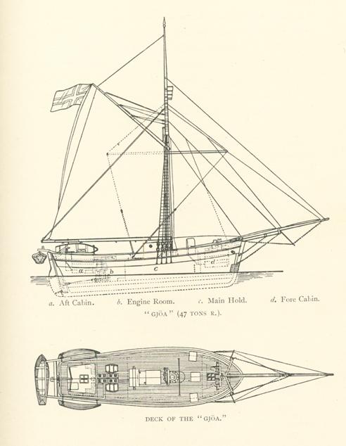 Amundsen  Ship Used in Northwest Passage Crossing