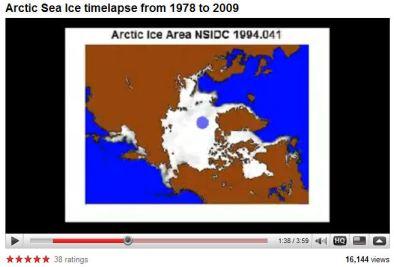 arctic ice video