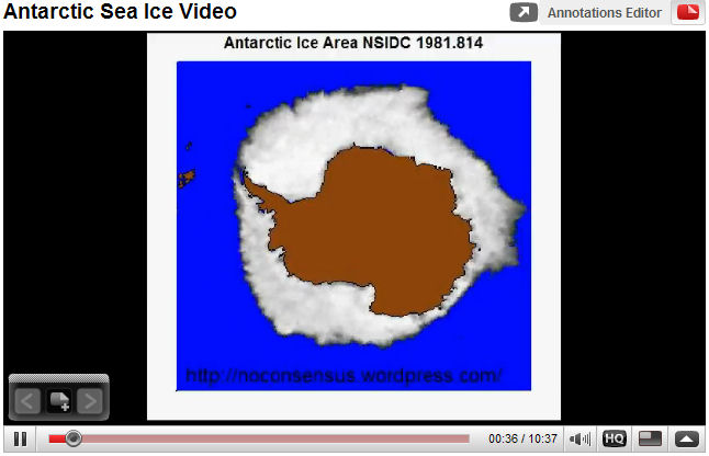 Antarctic Sea Ice Video - Click to play