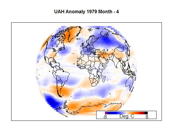 UAH Anomaly 1979 Month - 4